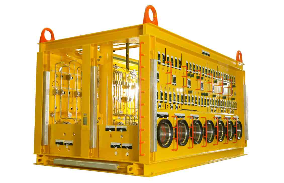 Subsea distribution system.