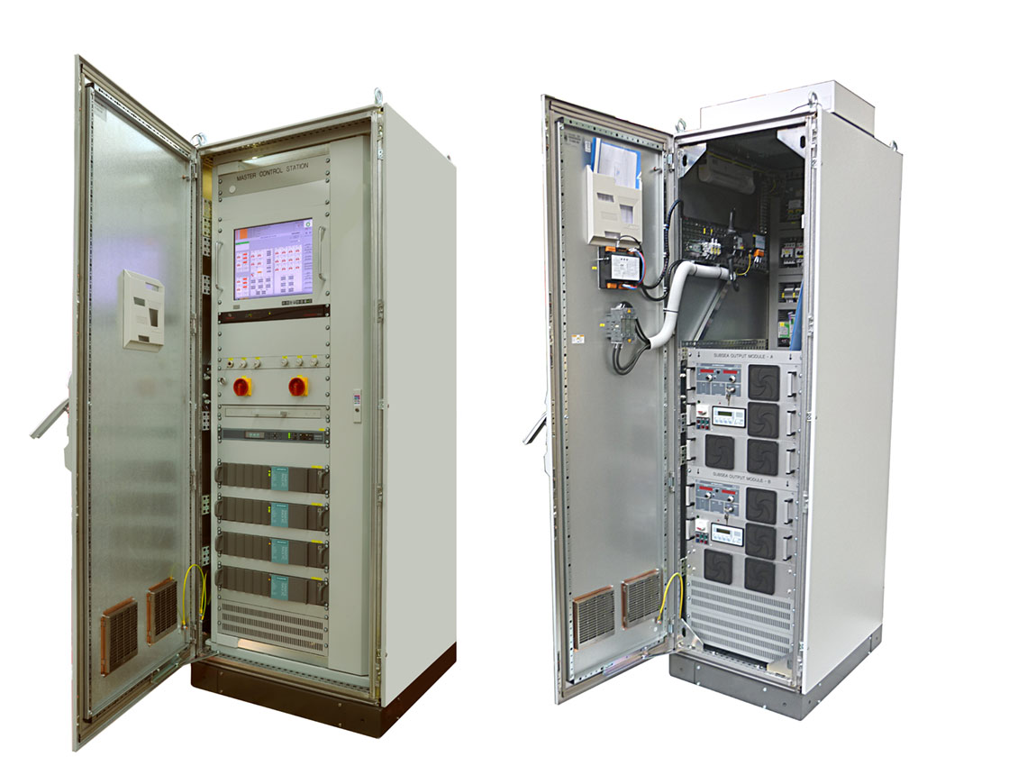 Topside control systems.