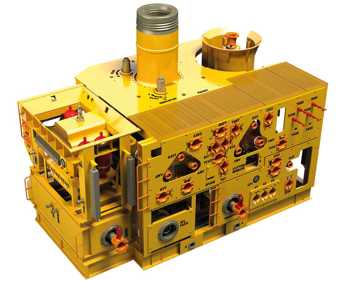Horizontal Subsea Tree Oil Gas Production System Onesubsea